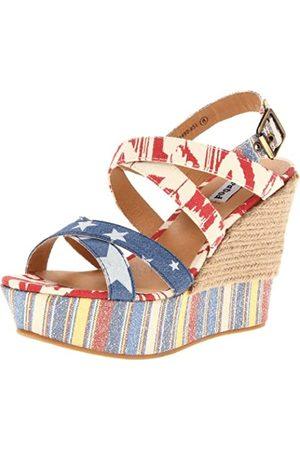 Not Rated Damen Sandalen mit Keilabsatz, ( / )
