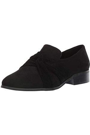 Bella Vita Damen Billie II Step in Loafer Slipper, Black E/Hahnentrittmuster