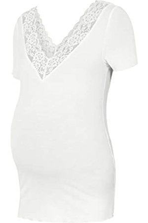 Mama Licious Damen MLTRINA S/S Jersey LACE TOP T-Shirt