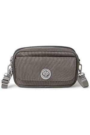 Baggallini Hanoi RFID Convertible Bag, Grau (Sterling Shimmer)