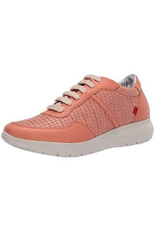 Marc Joseph New York Damen Leather Luxury Fashion Sneaker Wedge Turnschuh, Brique Nappa Soft/Krokodil