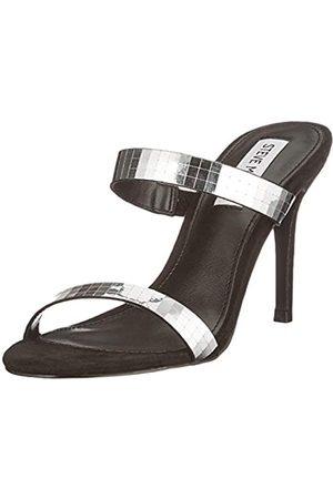 Steve Madden Damen LINNETT M BLACK MULTI Sandale mit Absatz