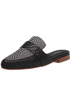 KAANAS Damen Milan Loafer Mule Slide Shoe Flach, Mehrfarbig ( / )