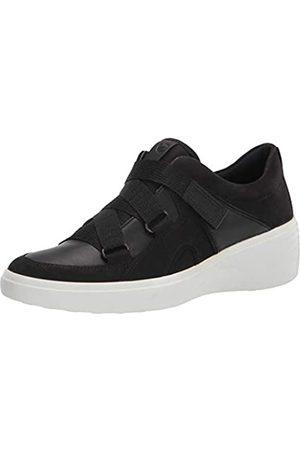 Ecco Damen Soft 7 Wedge Strap Sneaker