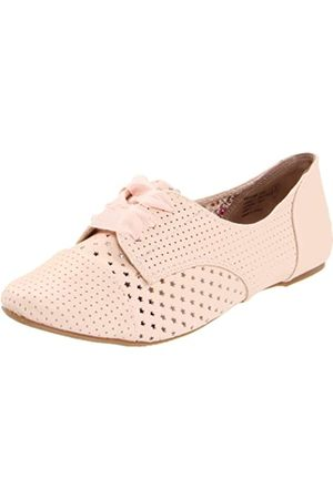Not Rated Damen Oxford Stars, Pink (Hellrosa Farbe)