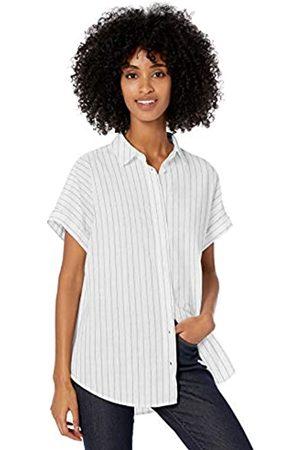 Goodthreads Damen T-Shirts - Washed Cotton Short-Sleeve button-down-shirts