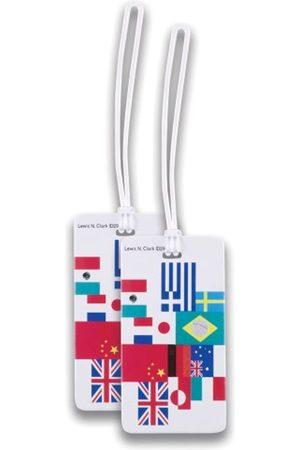 Lewis N. Clark Lewis N. Clark Lewis N. Clark 2er Packung Gepäckanhänger Flagge