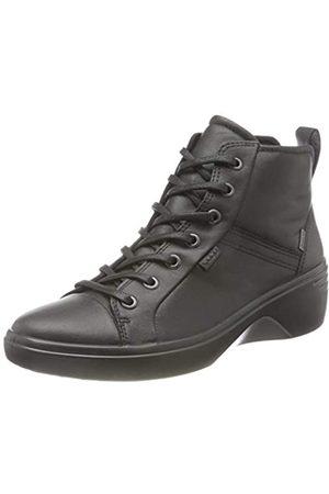 Ecco ECCO Damen Soft 7 Wedge BlackBlack DrittonSamba Ankle Boot, Schwarz (Black/Black)