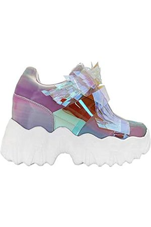 Anthony Wang Anthony Wang X LASR Exclusive Battle Angel Winged Plateau Wedge Sneaker, Mehrere (multi)