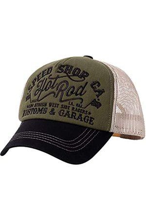 King kerosin Herren Trucker Cap Hot Rod Stickerei Retro Casualmode Hot Rod