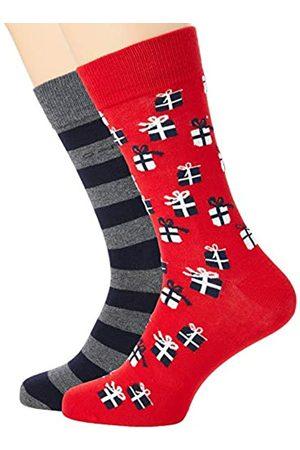 GANT Herren D2. 2-Pack Gift Box Klassische Socken