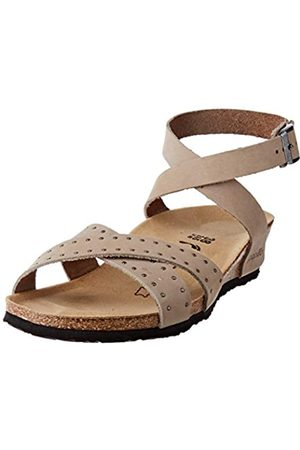 Papillio Damen Lola Cuir Nubuck Sandale mit Absatz