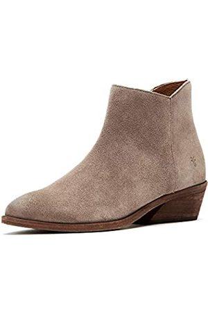 Frye Damen Farrah Inside Zip Ankle Boot, (stone)