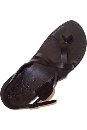 Holy Land Market CAMEL Biblische Herren-Sandalen aus echtem Leder - - Größe: 39 EU