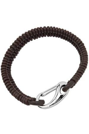 Burgmeister Burgmeister Jewelry Unisex Armband Edelstahl Leder 19.0cm JBM4014-769
