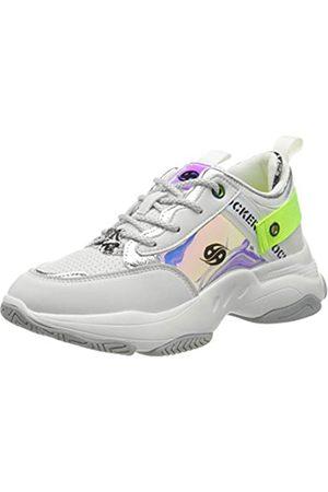 Dockers Damen 46AC201-610509 Sneaker, (Weiss/Multi 509)