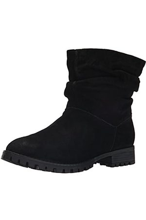 Chinese Laundry Women's Flip Boot, Black Suede