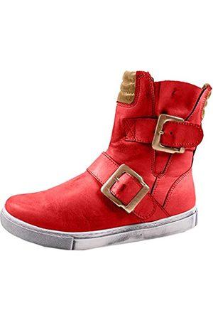 Andrea Conti Damen 0346833 Biker Boots, (Chili/Cognac 644)