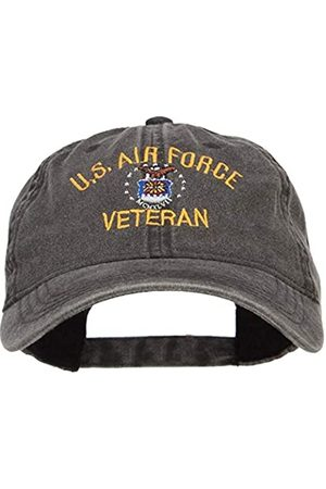 e4Hats.com US Air Force Veteran Military Embroidered Washed Cap - - Einheitsgröße