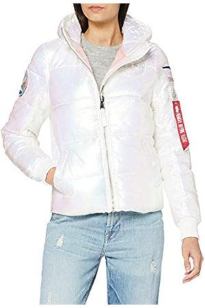Alpha Industries Damen Hooded Puffer NASA Wmn Jacke