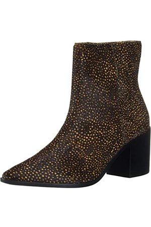 KAANAS Damen Pointy Sock Bootie Cheetah Stiefelette, Gepard-Durella