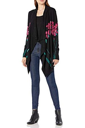 Desigual Womens JERS_Amarante Pullover Sweater, Black