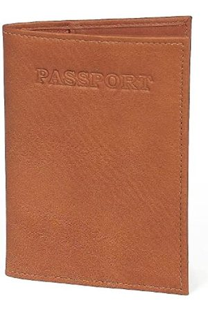Claire Chase Claire Chase Passport Case, Saddle