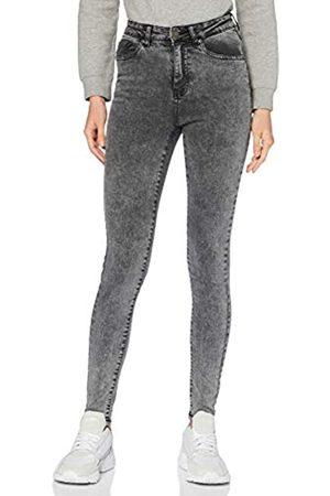 Urban classics Damen High Waisted - Damen Ladies High Waist Skinny Hose Jeans