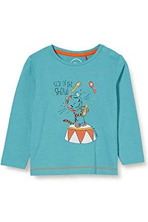 s.Oliver Mädchen Shirts - Junior Baby-Mädchen 405.10.008.12.130.2041491 T-Shirt, Türkis