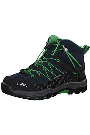CMP Rigel Mid Wp Unisex-Kinder Trekking-& Wanderschuhe, (B.Blue-Gecko)