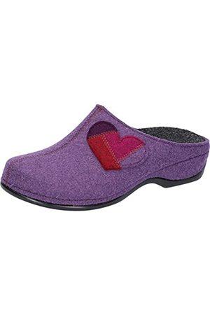 Berkemann Damen Bona Pantoffeln, (Lila 282)