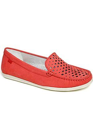 Marc Joseph New York Damen Leder Made in Brazil Venezianische Perforierte Loafer, (Nubukleder )