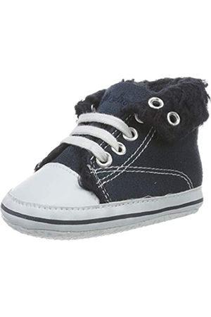 Playshoes Playshoes Unisex-Kinder Baby Krabbelschuhe, Blau (marine 11)