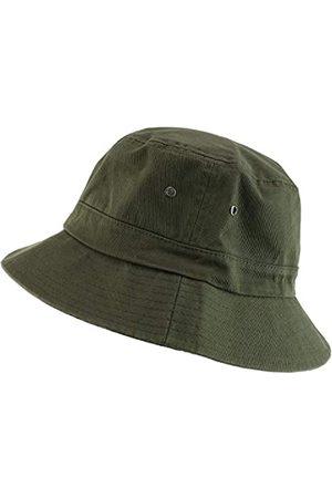 Trendy Apparel Shop Trendy Apparel Shop Übergröße XXL – XXXL Kurze Krempe Outdoor Bucket Hat - Gr�n - XL/XXL