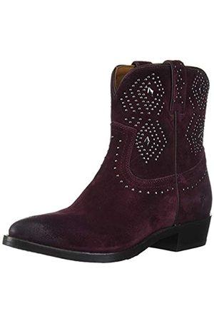 Frye Damen Billy Stud Short Western Boot, (pflaume)