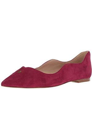 Sam Edelman Damen Rosalie Ballett Flach, Pink (Granatapfel Wildleder )