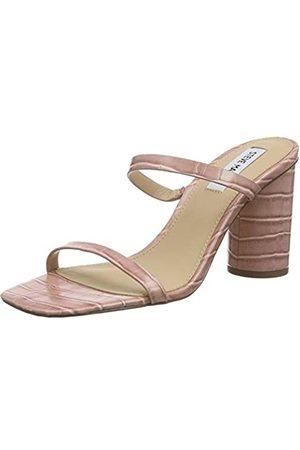 Steve Madden Damen KATO Croco Sandale mit Absatz