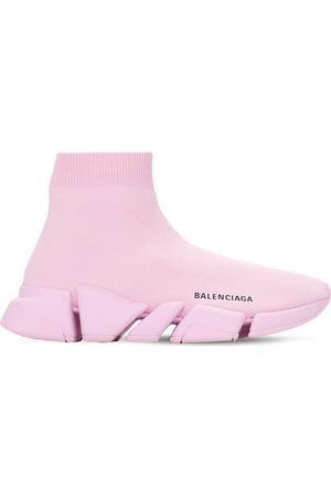 "Balenciaga 30mm Hohe Sneakers Aus Strick ""speed 2,0 Lt"""