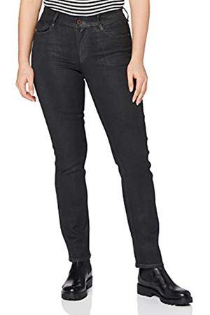 G-Star G-STAR RAW Womens Noxer Navy High Waist Straight Jeans