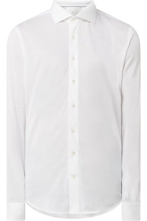 Profuomo Slim Fit Business-Hemd aus Piqué