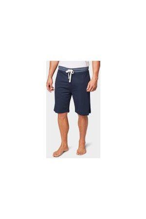 TOM TAILOR Bermuda Shorts aus Jersey, Herren, blue-dark-solid, Größe: 54/XL