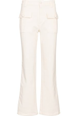 See by Chloé Mid-Rise Cropped Jeans
