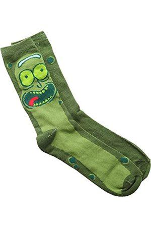 Rick and Morty Pickle Rick Erwachsene Crew Socken