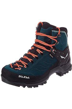 Salewa Damen WS Mountain Trainer Mid Gore-TEX Trekking-& Wanderstiefel, Atlantic Deep/Ombre Blue