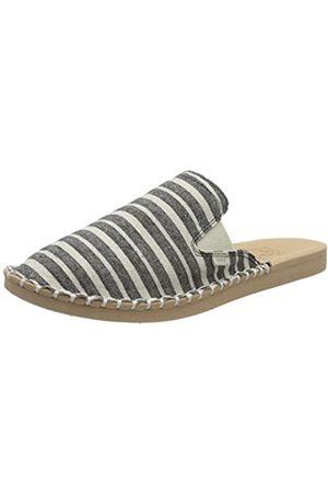 Reef Womens Escape Mule Tx Slide Fashion casual Sandal, Black/Stripes