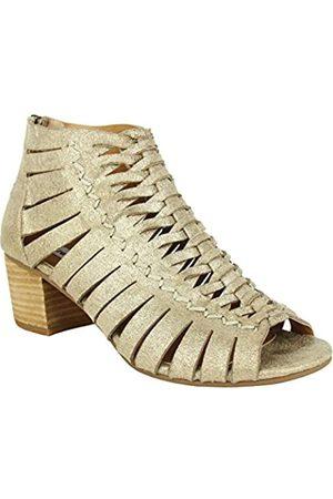 Not Rated Murphy Low Heel Shoetie with Woven Upper Detail in