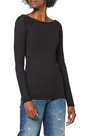 G-Star Womens Rib Deep Back Slim T-Shirt