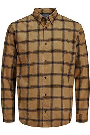 JACK & JONES Herren JORJAN Shirt LS Hemd
