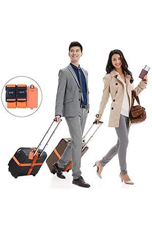 HLFeng Reise-Gürtel mit Schloss, verstellbare Koffergurte