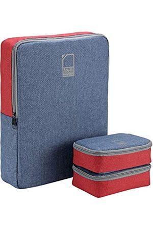 Lewis N. Clark Lewis N. Clark Packwürfel + Reise-Organizer für Gepäck, Koffer oder Handgepäck, 3 Stück